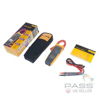 *NEW* Genuine Fluke 373 600A TRMS Clamp Meter + Accessories / UK Stock