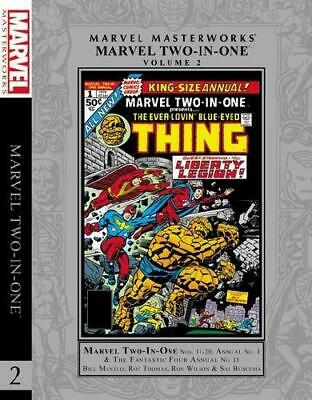 Marvel Two-in-One. Volume 2 by Bill Mantlo, Roy Thomas, Ron Wilson (artist)