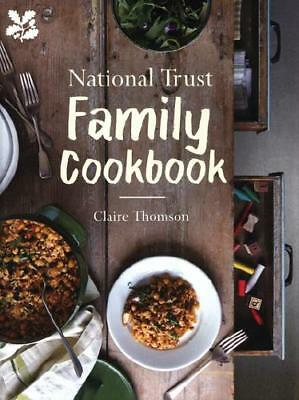 National Trust Family Cookbook by Claire Thomson, National Trust (Great Brita...