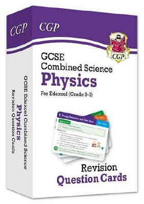 New 9-1 GCSE Combined Science: Physics Edexcel Revision Question Cards by CGP...