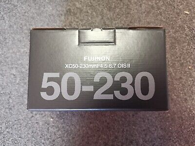 Fujifilm Fuji XC 50-230mm F4.5-6.7 OIS II Black Lens - Brand New, UK