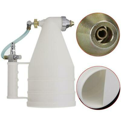 Heavy Duty Stucco Sprayer for Ceilings and Walls Plaster Sprayer w/ 2 Nozzle
