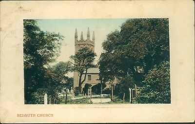 Redruth church; valentine's 1916
