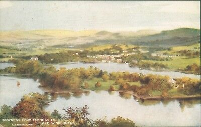 Windermere; Bowness from Furness fell; McCorquodale