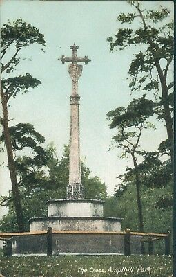 Ampthill park, the cross,1907; rush and warwick