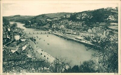 Looe from west hill;  photochrom