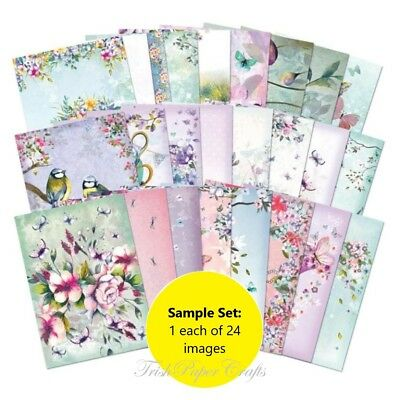 SAMPLE SET of 24xA6 Shts ~ Hunkydory's THE LITTLE BOOK OF SHIMMER