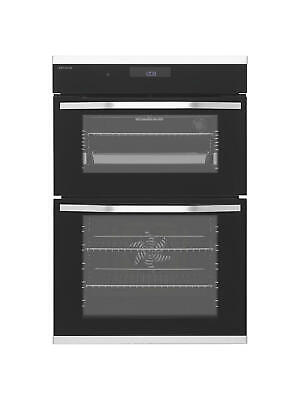 John Lewis JLBIDO931X Built-In Double Electric Oven, Stainless Steel