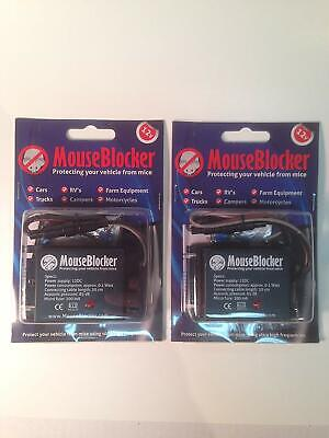 MouseBlocker 2 Pack - 12V Under Hood Mouse and rodent deterrents