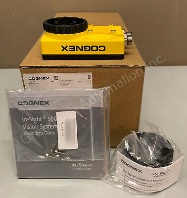 NEW COGNEX IN Sight ISM1400-11 w/ PATMAX + Lens + Cable