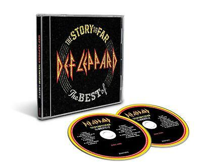 The Story So Far 2 CD's The Best Of Def Leppard 602567910336 NOW SHIPPING!