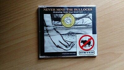 FISH (Marillion) Never Mind The Bullocks featuring Hold Your Head Up 4 Track CD