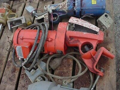 2 Hp clamp mount mixer gear reduced 208-230/460 v, XP with shaft and prop