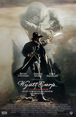Wyatt Earp movie poster (b) - Kevin Costner poster  - 11 x 17 inches