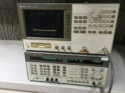HP/Agilent 4352S Signal/Phase Noise Analyzer System w/Code ANI 19GHz Downconvert