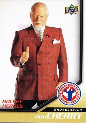 2009 Upper Deck National Hockey Card Day #15 Don Cherry
