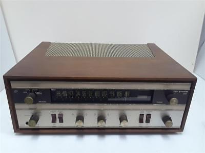 The Fisher 200 Stereo Receiver Wood Cabinet Nice Shape Works