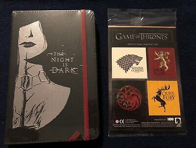 Game Of Thrones Journal AND Sigil Magnet Set BOTH NEW SEALED! GOT