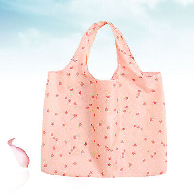 1 Pc Eco-friendly Bag Foldable 2-in-1 Reusable Shopping Bag for Vegetable
