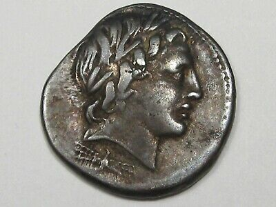 Coins: Ancient 5 100% True Rare Unresearched Hemidrachm Greek Silver Coin 300 Bc