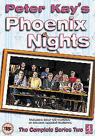 Peter Kay's Phoenix Nights: The Complete Series 2 second DVD Channel 4