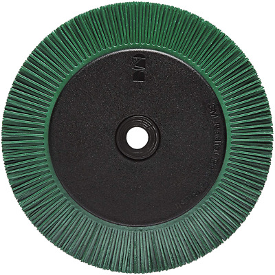 Scotch-Brite™ Radial Bristle Brush, 8 in x 1 in x 1-1/4 in 50 with Flange