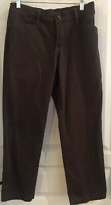 Lee Relaxed Fit At The Waist Brown Pants 6P Chinos Slacks