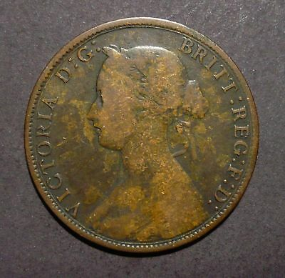 1861 Nova Scotia Large 1 Cent