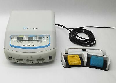 Conmed System 2450 Esu Electrosurgical Generator 60-2450-120+Footswitch