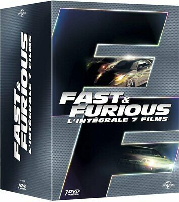 DVD Fast and Furious - L'intégrale 7 films Vin Diesel Paul Walker Luke Evans