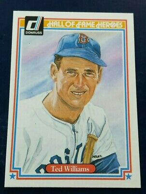 1983 Donruss Hall of Fame HeroesTed Williams Boston Red Sox #9