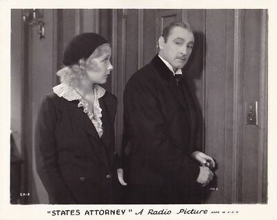 STATE/'S ATTORNEY MOVIE POSTER John Barrymore VINTAGE