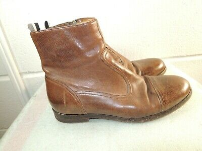 5fab149aa568b VINTAGE EL DANTES Women Brown Leather Ankle Boot Made in Spain SIZE ...