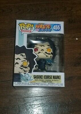 New Funko Pop Anime Naruto Shippuden Sasuke Curse Mark