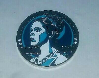 STAR WARS 2017 - 2019 Celebration  Leia  Tribute Rememberance Challenge Coin