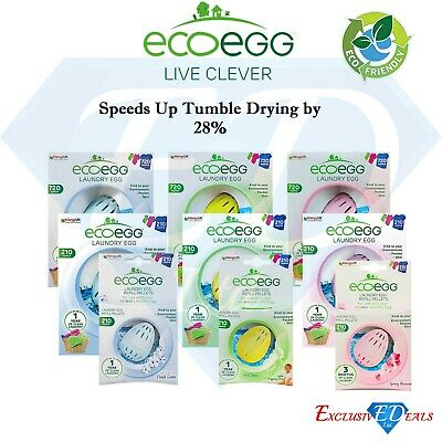 Ecoegg Laundry Eggs & Refills - Natural Alternative to Detergents - Eco-Friendly