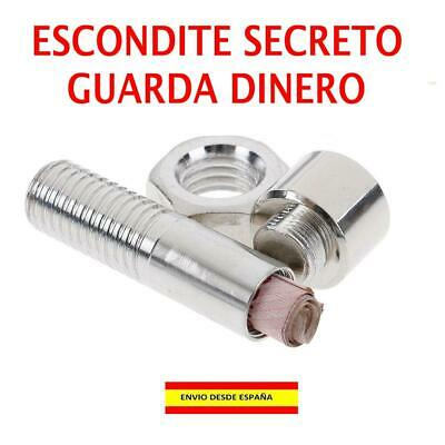 TORNILLO FALSO Escondite SECRETO guarda dinero - Desmontable - REBAJADO !!
