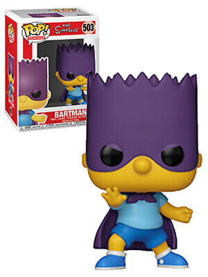 Funko POP! Television The Simpsons #503 Bartman (Bart) - New, Mint Condition