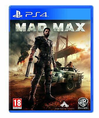 Mad Max PS4 PlayStation 4 Brand New Sealed Official