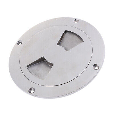 "NEW 6/"" Deck Plate SS SSDP110344 Boat//Marine"