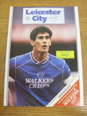 05/11/1988 Leicester City v Manchester City  . Thanks for viewing this item avai