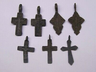 Many different, ancient crosses. 17-18 century  Nice gift.