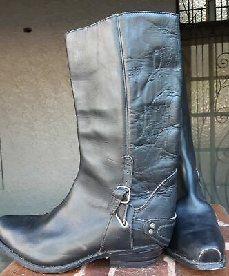 Biker Boot, Black by 'Adam's Boots', Mexico, size 45