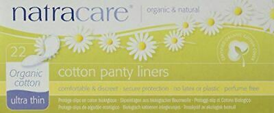 Natracare 22 Cotton Panty Liners Ultra Thin