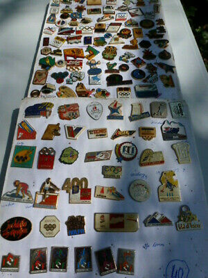 lot collection 120 pin JEUX OLYMPIQUE OLYMPIC GAME 1992 92 ALBERTVILLE BARCELONA