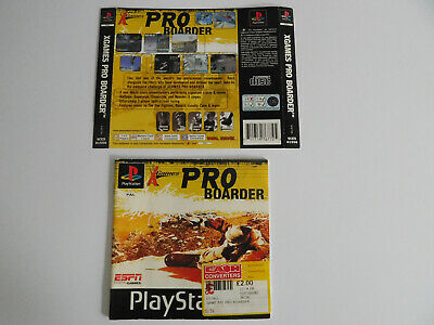 * Ps1 * Pro Boarder * Manual & Rear Inlay Only * Retro Gamer