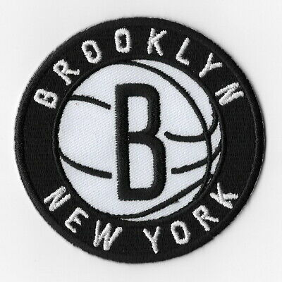 NBA Brooklyn Nets Iron on Patches Embroidered Patch Badge Emblem Applique Round