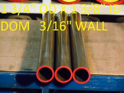 "E0077 Dom Round Steel Tube  1.750"" Od  X   1.375""  Id  (.187 Wall)   36""  Long"