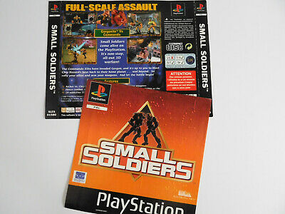 * Ps1 * Small Soliders * Front & Rear Inlays Only * Retro Gamer
