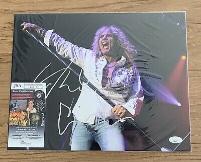 David Coverdale Autographed 11x14 Photo Whitesnake Here We Go Again